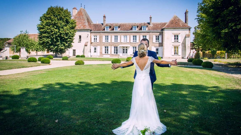 Mariage romantique au Domaine de Vermoise dans l'Aube